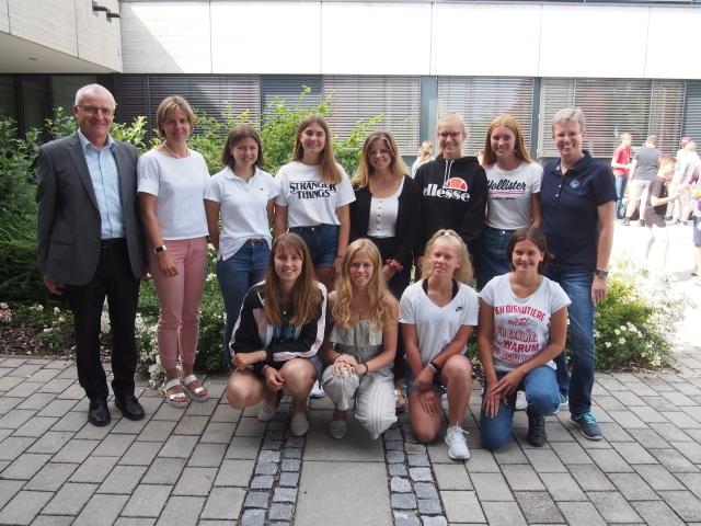 Knappe Niederlage im Schulwettbewerb – Tennis-Mädchen des Gymnasiums Dingolfing verlieren Qualifikationsturnier zur Südbayerischen Meisterschaft
