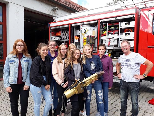 Exkursion zur Feuerwehr