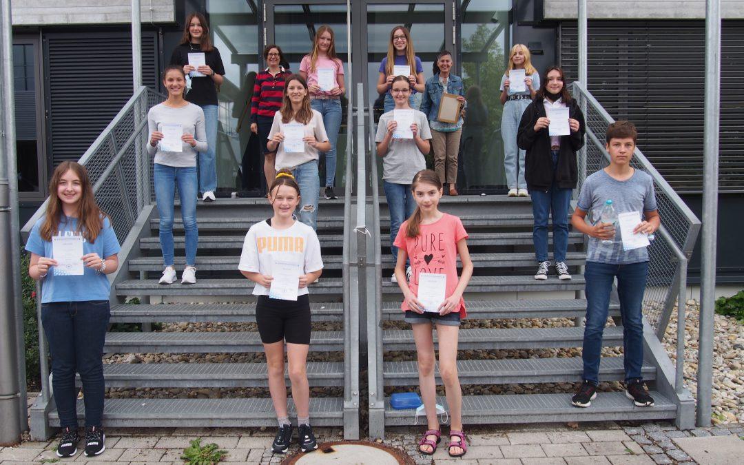 Bayerisches Schülerleistungsschreiben 2021