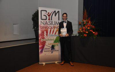 Auszeichnung der Gesellschaft für deutsche Sprache e. V. für Tobias Wagner